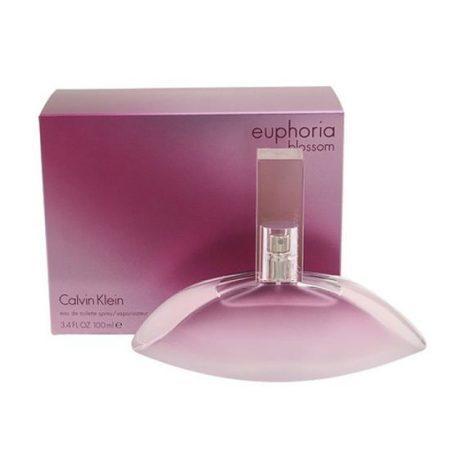 Euphoria Blossom 100 ml (Кальвин Кляйн Эйфория Блоссом). Парфюмерная вода (eau de parfum - edp) и туалетные духи (parfum de toilette) женские