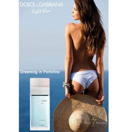 D & G Light Blue / Дольче энд Габбана Лайт Блю. Парфюмерная вода (eau de parfum - edp) и туалетные духи (parfum de toilette) женские