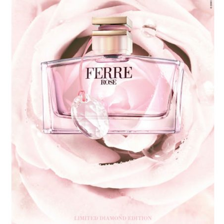 Gianfranco Ferre Ferre Rose / Джан Франко Ферре Роуз. Парфюмерная вода (eau de parfum - edp) и туалетные духи (parfum de toilette) женские