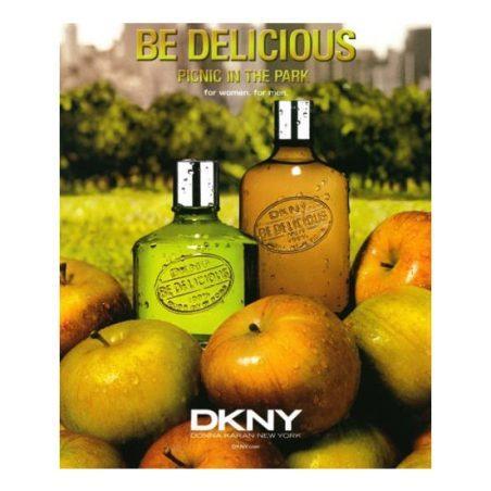 DKNY Be Delicious Picnic In The Park Man (Донна Каран Нью-Йорк. Очаровывай. Пикник в парке для мужчин). Парфюмерная вода (eau de parfum - edp) и туалетные духи (parfum de toilette) мужские