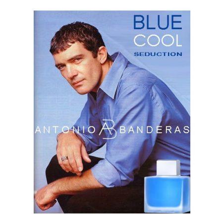 Blue Cool Seduction For Men Antonio Banderas / Антонио Бандерас. Синий. Прохладное обольщение. Одеколон (eau de cologne - edc)