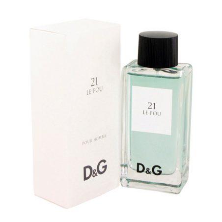 Dolce Gabbana 21 Le Fou Man (Дольче энд Габбана 21 Ле Фоу). Туалетная вода (eau de toilette - edt) мужская / Одеколон (eau de cologne - edc)