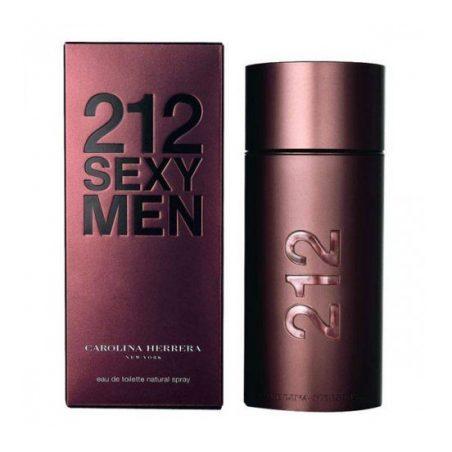 Carolina Herrera 212 Sexy For Men (Каролина Хэррера 212 Мэн 212 Секси Мэн). Туалетная вода (eau de toilette - edt) мужская / Одеколон (eau de cologne - edc)
