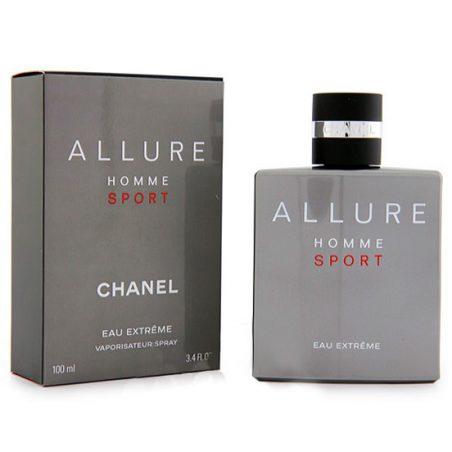 Chanel Allure Homme Sport Eau Extreme Man (Шанель Аллюр Ом Спорт Эу Экстрим). Туалетная вода (eau de toilette - edt) мужская / . Одеколон (eau de cologne - edc)