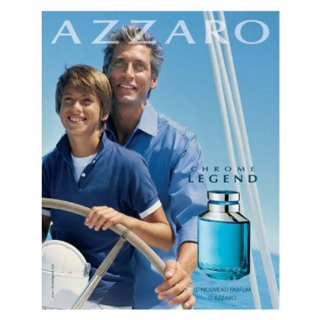Азаро Хроме Легенда. Парфюмерная вода (eau de parfum - edp) и туалетные духи (parfum de toilette) мужские