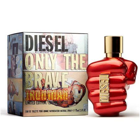 Diesel Only The Brave Iron Man (Дизель Онли Зэ Брейв Айрон Мэн). Туалетная вода (eau de toilette - edt) мужская