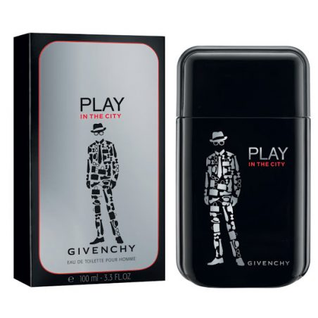 Givenchy Play In The City Men (Живанши Плэй Ин Зе Сити для него). Туалетная вода (eau de toilette - edt) мужская / Одеколон (eau de cologne - edc)