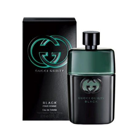 Gucci Guilty Black pour Homme Man (Гуччи Гилти Блэк Пур Омм. Виновный Черный для мужчин). Туалетная вода (eau de toilette - edt) мужская