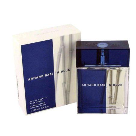 In Blue for men Armand Basi / Арманд Баси. Синий для мужчин. Парфюмерная вода (eau de parfum - edp) и туалетные духи (parfum de toilette) мужские