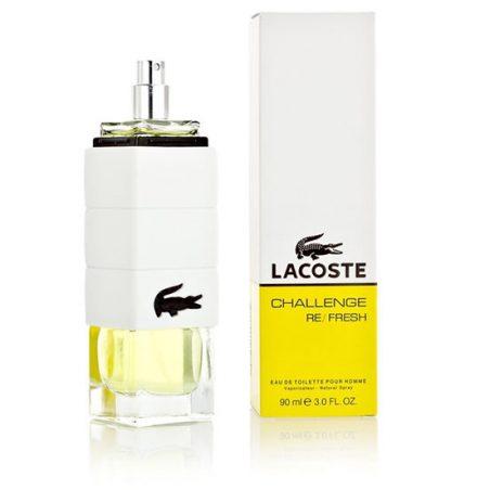 Lacoste Challenge Re/fresh Men. Парфюмерная вода (eau de parfum - edp) и туалетные духи (parfum de toilette) мужские