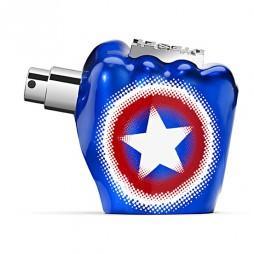 Only the Brave Captain America Diesel Man (Дизель. Только для смелых. Капитан Америка). Парфюмерная вода (eau de parfum - edp) и туалетные духи (parfum de toilette) мужские