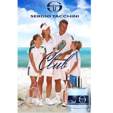 Sergio Tacchini Club. Парфюмерная вода (eau de parfum - edp) и туалетные духи (parfum de toilette) мужские
