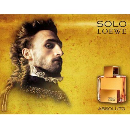Solo Absoluto Loewe. Парфюмерная вода (eau de parfum - edp) и туалетные духи (parfum de toilette) мужские
