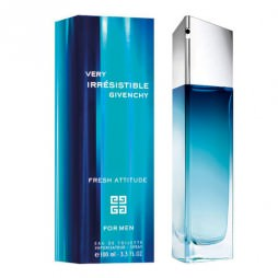 Very Irresistible Fresh Attitude for Man Givenchy (Живаньши Вери Иррезистибль Фреш Аттитюд для мужчин). Туалетная вода (eau de toilette - edt) мужская / Одеколон (eau de cologne - edc)