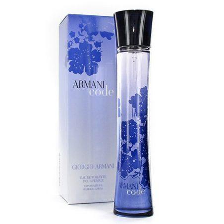 Giorgio Armani Code Pour Femme For Women edp 75 ml. Парфюмерная вода (eau de parfum - edp) и туалетные духи (parfum de toilette) женские