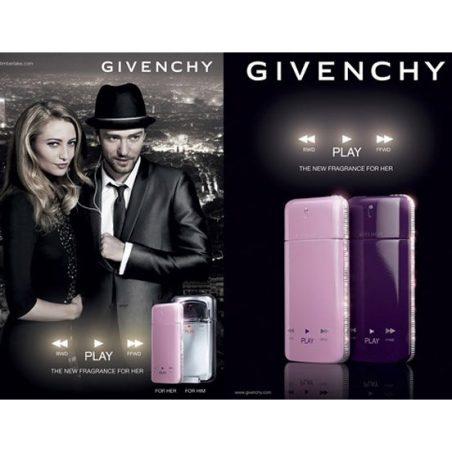 Givenchy Play Intense For Her. Туалетная вода (eau de toilette - edt)