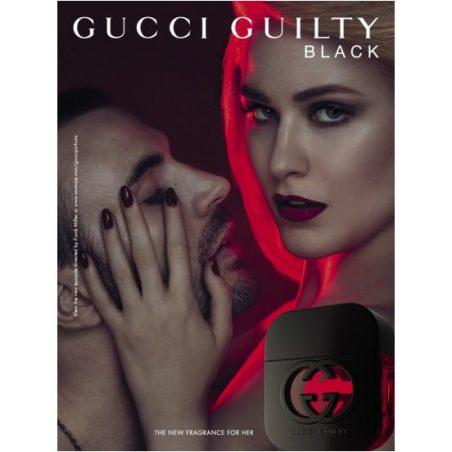 Gucci Guilty Black pour Femme / Гуччи Виновный Черный. Парфюмерная вода (eau de parfum - edp) и туалетные духи (parfum de toilette) женские