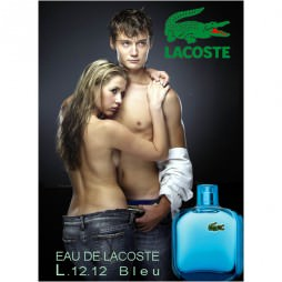 Lacoste Eau de Lacoste L.12.12 Blue (Лакост еау дэ Лакост Л.12.12 Блу). Одеколон (eau de cologne - edc)