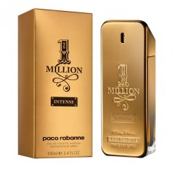 Paco Rabanne 1 Million Intense Man (Пако Раббан 1 миллион Интенс). Туалетная вода (eau de toilette - edt) мужская / Одеколон (eau de cologne - edc)