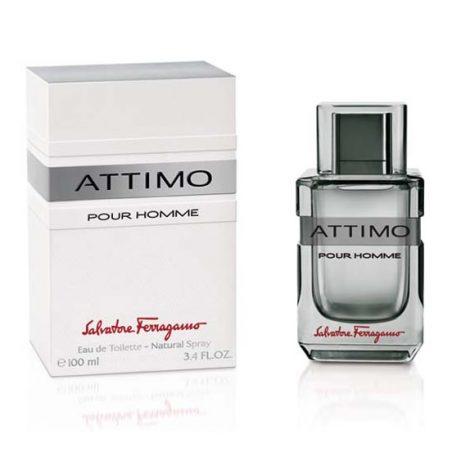 Salvatore Ferragamo Attimo Pour Homme Man (Сальвадоре Феррагамо Аттимо Пьюр Хоме). Туалетная вода (eau de toilette - edt) мужская