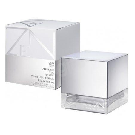 Shiseido Zen Man White Heat Edition (Шисейдо Зэн Уайт Хит Эдишен). Туалетная вода (eau de toilette - edt) мужская / Одеколон (eau de cologne - edc)