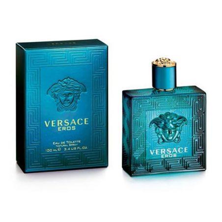 Versace Eros Man (Ерос Версаче). Туалетная вода (eau de toilette - edt) мужская / Одеколон (eau de cologne - edc)