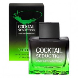 Cocktail Seduction in Black for Men Antonio Banderas / Антонио Бандерас Коктейль Седакшн Ин Блэк фо мен. Туалетная вода (eau de toilette - edt) мужская