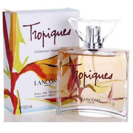 Ланком Тропики. Парфюмерная вода (eau de parfum - edp) и туалетные духи (parfum de toilette) женские
