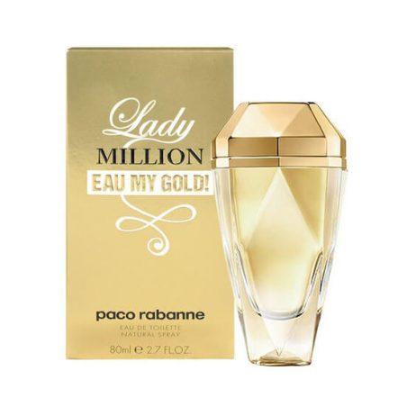 Paco Rabanne Lady Million Eau My Gold! / Пако Раббан Леди Миллион Еау Май Голд. Туалетная вода (eau de toilette - edt)