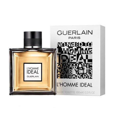 Guerlain L Homme Ideal Man (Гуерлайн Эль Хомм Идеал). Туалетная вода (eau de toilette - edt) мужская / Одеколон (eau de cologne - edc)
