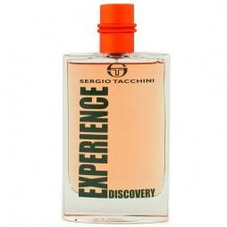Experience Discovery Sergio Tacchini. Парфюмерная вода (eau de parfum - edp) и туалетные духи (parfum de toilette) мужские