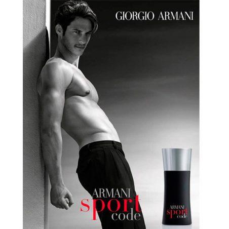 Giorgio Armani Armani Code Sport. Парфюмерная вода (eau de parfum - edp) и туалетные духи (parfum de toilette) мужские