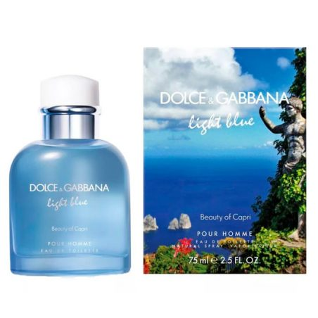 Dolce and Gabbana Light Blue Pour Homme Beauty of Capri