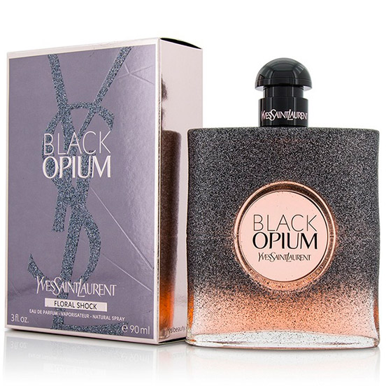 Black Saint Opium Yves Laurent Shock Floral 0kXnOPw8