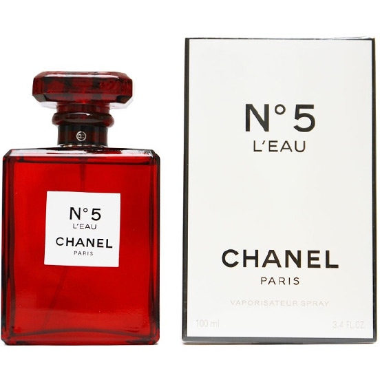 Chanel 5 Leau Red Edition